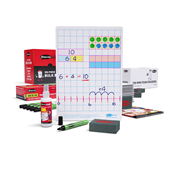 A4 Gridded Whiteboards, Pens & Erasers Class Pack