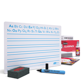 A4 Handwriting Whiteboards - Boards, Pens & Erasers Set