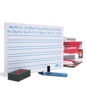 Show-me A4 Handwriting Boards, Bulk Box 100 Sets