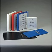 Two Ring A4 Presentation Ring Binder Black - 38mm Spine/25mm Capacity - Pack of 10