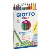 Giotto Mega Colouring Pencils - Hexagonal