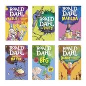 Roald Dahl Book Pack - Pack of 6