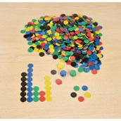 Plastic Counters - 22mm - Pack of 500