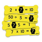 2, 5 and 10 Multiplication and Division Crunchers - Pack of 72