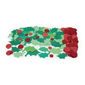 Holly & Berry Shapes - Pack of 300