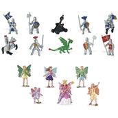 TOOB® by Safari Ltd® Fairy Fantasies and Knights and Dragons Duo