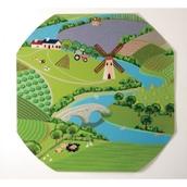 Farmyard Play Tray Mat from Hope Education