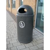 Tidy Logo Litter Bin