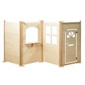 Millhouse - Maple Effect Play Panels - Front Door