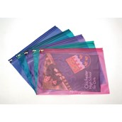 Coloured Zip Wallet A4+ Assorted - Pack of 25