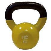 Fitness Mad Kettlebell - Yellow - 6kg
