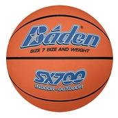 Baden SX700 Rubber Basketball - Tan - Size 7