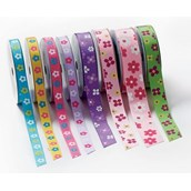 Ribbons Sets - Flowers - Pack of 8