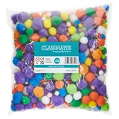 Classmates Pom Poms - Pack of 1000