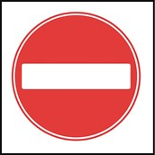 Traffic Signs - No Entry