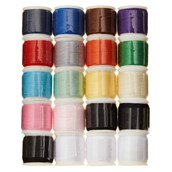 Assorted Polyester Threads - Pack of 20
