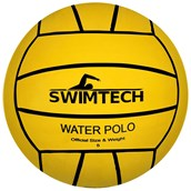 Swimtech Water Polo Ball - Yellow - Size 5