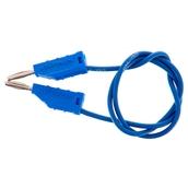 2mm Stackable Plug Lead: Blue, 300mm