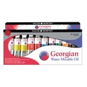 Daler Rowney Georgian Water Mixable Oil Colour Set
