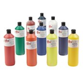 Scola Screen Printing Inks - 300ml - Assorted - Pack of 10