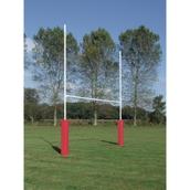 Harrod Sport School Rugby Posts - Hinged - Pair