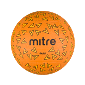 Mitre Oasis Netball - Orange - Size 4 - Pack of 12