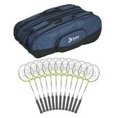 Davies Sports Pegasus Badminton Racquet - White - 26in - Pack of 12