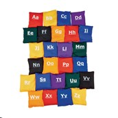 Alphabet Beanbags - Assorted - Pack of 26
