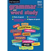 Grammar and Word Study Book F - Age 10-11