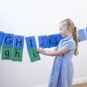 Alphabet Washing Line