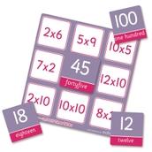2, 5 and 10 Times Table Bingo