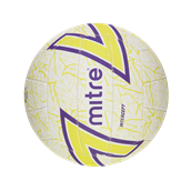 Mitre Intercept Netball - White - Size 5