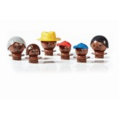 Mobilo® People Figures with Black Skin