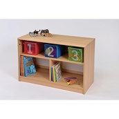 Room Scenes Open Bookcase With Inset Panel
