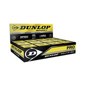 Dunlop Pro Squash Ball - Black - Pack of 12