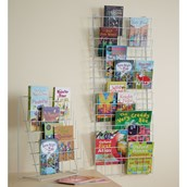 Vertical Book Rack