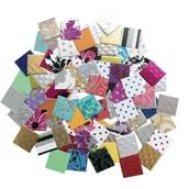 Jumbo Textured Paper Mosaics Assortment - Pack of 2000