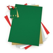 Educraft Festive A4 Assorted Colourcard - Pack of 100