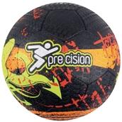 Precision Street Mania Football - Fluo Yellow/Black - Size 5
