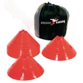 Precision Giant Saucer Cone Set - Red