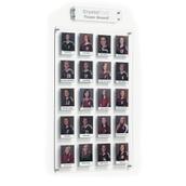 Crystal Wall Team Board - 20 pockets