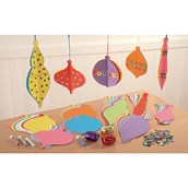 Folding Baubles and Collage Set - Pack of 100