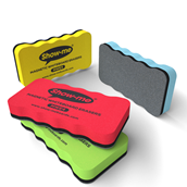 Show-Me® Magnetic Board Eraser  Assorted - Pack of 4