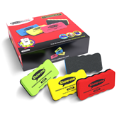 Show-Me® Magnetic Board Eraser  Assorted - Pack of 24
