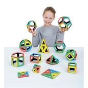 Polydron Magnetic Mathematics Set