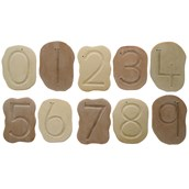 Feels Write Number Stones