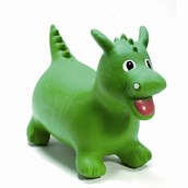 HappyHopperz® Green Dinosaur