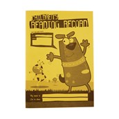 A5 Reading Record Book 40 Page, Ruled, Yellow - Pack of 25
