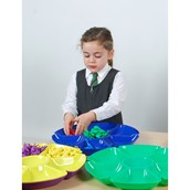 Flower Sorting and Counting Trays - Pack of  6