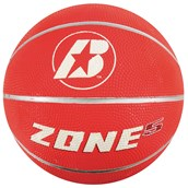 Baden Zone Basketball - Red - Size 5